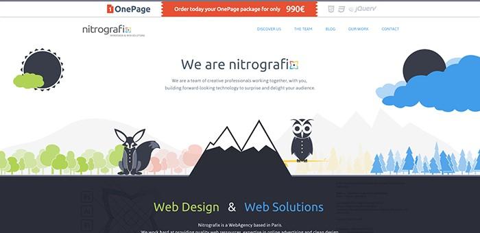 trendy w webdesignie
